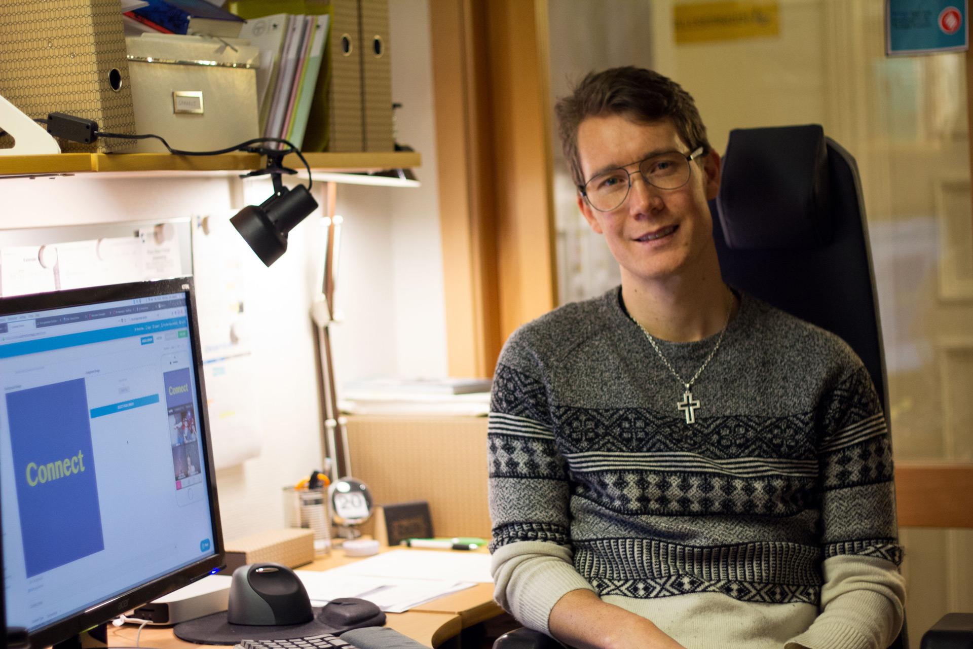 Finn Olav Felipe Jøssang er bibelinspirator og redaktør for Connect.