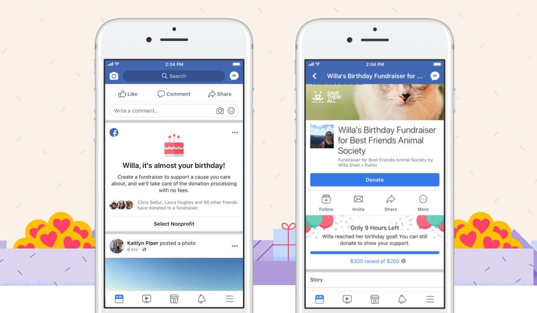 Ukas ros går alle Facebook-brukerne som har donert penger det siste året